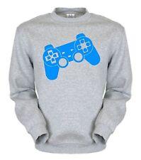 Gamer Controller Sweatshirt Fun Pullover Hooded Pulli ego Shooter Nerd zocker PC