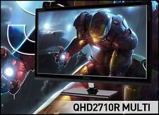 "QNIX - QHD2710R MULTI 27"" 2560 x 1440 @ 60Hz QHD/ 16:9 / 1,000:1 / 10.7B color"