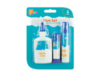 The Box Create Non-Toxic Super Glue, great choice for both, 3 Piece set