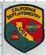 California Department of Forestry Shoulder Patch from the 1980's