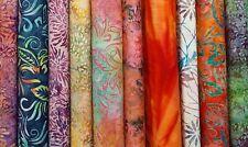 """Wanderlust II Batiks Fabric Jelly Roll Strips - 10 strips 2.5"""" x 44"""""""