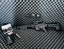 Airsoft M4 Rifle upgraded by Umbrella Armory - AEG - EMG Class 3 - Bundle