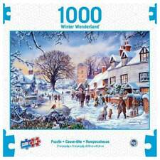 1000PC PUZZLE JIGSAW WINTER WONDERLAND A VILLAGE IN WINTER PUZZLE BY SURE LOX