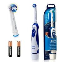 Braun Advance Oral B NUOVO Power batteria viaggi elettrico spazzolino denti xu