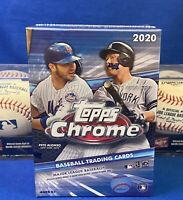 2020 TOPPS CHROME Blaster Box Sealed