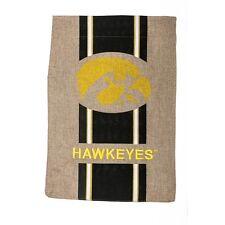 Iowa Hawkeyes Garden Flag!