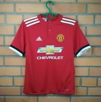 Manchester United Jersey 2017 2018 Youth 11-12 Home Shirt AZ7584 Adidas Trikot