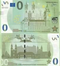 Biljet billet zero 0 Euro Memo - Landeshauptstadt Magdeburg (017)