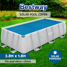 Bestway Solar Pool Cover Blanket for Swimming Pool 56244 56251 56661 4.12mx2m