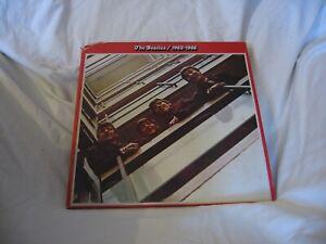 The Beatles 1962-1966 double Vinyl LP Album one Lp mispressed & unplayable