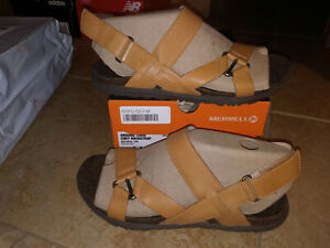 NEW $80 Womens Merrell Around Town Chey Backstrap Sandals, size 7       shoes