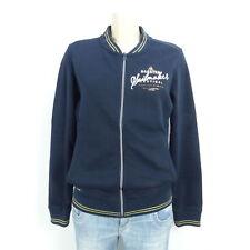 GAASTRA Blouson Jacke Baumwolle Blau Gold Gr. L 40