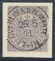 31468) COERLIN AN DER PERSANTE Pommern NDP-Stempel 1871 auf Mi.-Nr. 17