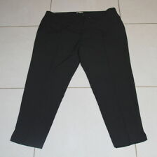 Womens size 20 black tapered ankle length dress pants made by TARGET