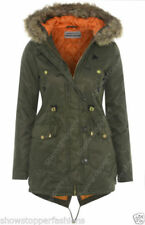 Manteaux et vestes parkas fourrure pour femme taille 38
