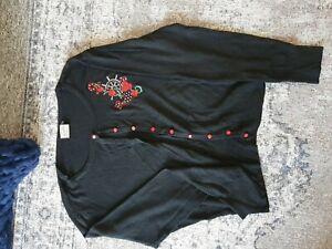 Rockabilly Cardigan Size 4xl