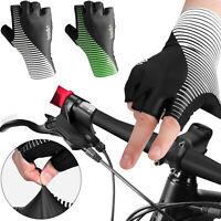 Summer Sport Short Half Finger Gel Pad Cycling Bike Bicycle Gloves For Men Women
