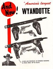 Vintage 1951 HOPALONG CASSIDY All Metal Products full page ADS