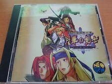 LAST BLADE 2 NEOGEO CD SNK NEO GEO  + SPINE CARD