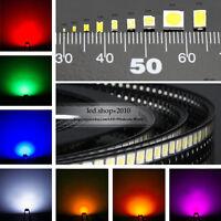 1000pcs Smd 5050 3528 5630 0603 0805 1206 SMD / SMT Super Bright LED Diodes