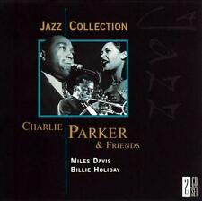 CHARLIE PARKER & Friends (Miles Davis/Billie Holiday)(2002) USA 2-CD Set *NEW*