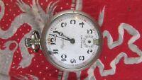 ancienne montre a gousset chronometre regulateur argentan 20