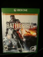 Xbox One BATTLEFIELD 4 Includes China Rising Expansion Pack complete Adult Owned