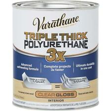 Varathane 1 Qt Gloss Triple Thick Water-Based Interior Polyurethane 284470