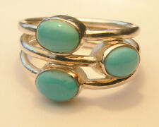 Sterling Silver 925 Ring with turquoise stone.