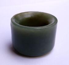 Ancienne bague d'archer en jade Chine