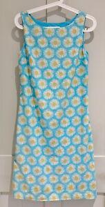 LK BENNETT Linen Dress Size 8 Daisy Smart Summer Holiday Wedding Work Party