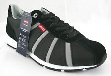 Levis 501 Performance Sneaker Schuh 46 Comfort Tech Leder mix Schwarz Levi´s NEU