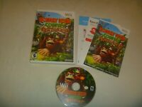 Donkey Kong Country Returns (2010) Nintendo Wii Complete With Case Manual Insert