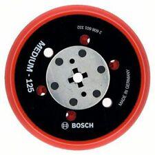 """Bosch RANDOM ORBITAL SANDER BACKING PAD 125mm Medium 5/16"""" Thread"""