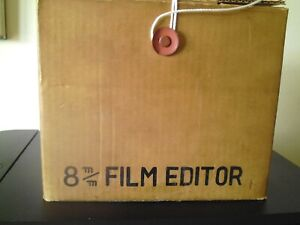 ESTATE CLEARANCE   BOXED CONSUL 8MM  FILM EDITOR/ PART TESTED/ WORKING ORDER
