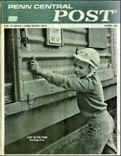 Penn Central Railroad Post Magazine 78 Issue Collection On USB