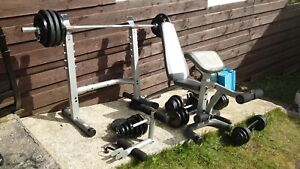 Leg Attachment For Weights Bench gym fitness
