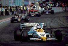KEKE ROSBERG Williams FW09 BELGA GRAND PRIX 1984 Fotografia