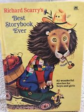 Richard Scarry's Best Storybook Ever, Golden Books, 1968 Printing