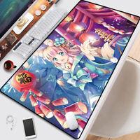 Anime Azur Lane Oversize Keyboard GAME Mouse Pad Table Mat Otaku Gift 70*40CM#G1