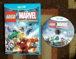 LEGO Marvel Super Heroes (Nintendo Wii U, 2013) VG Shape & Tested