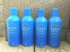 Asea Water Redox Supplement 4 Bottles ~ Exp 12/2021 ~ Free Shipping