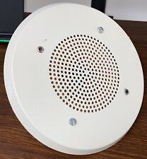Wheelock E 9025 Speaker Fire Alarm White