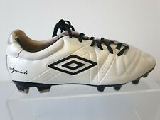 Umbro Speciali Premier Football Boots Shoes UK 8 Leather Upper Mens T451