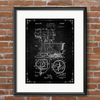 Kitchen Mixer Patent Print Poster Restaurant Food Cooking Decor Wall Art 437