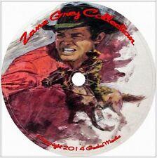 Zane Grey His 33 Western Novels CD vintage set old west cowboy lot books best