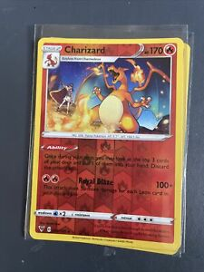 Charizard 025/185 Reverse Holo - Vivid Voltage - Pokemon Card - NM/MINT