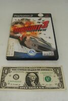 Sony Playstation  Video Game PS - Burnout 3 Takedown