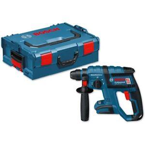 Bosch GBH18V-EC Prof Cordless Rotary Hammer Bare Unit in L-Boxx