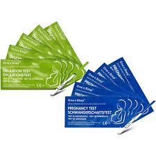 34 Ovulation 6 Pregnancy Fertility Urine Test Kits One Step 1 Sperm Count Kit